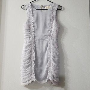 Lush Ruched Sleeveless Dress